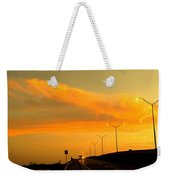 The Bridge At Sunset Weekender Tote Bag