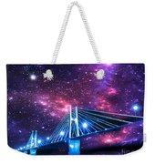The Bridge Between Two Worlds Weekender Tote Bag