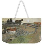 The Bridge. From A Home Weekender Tote Bag