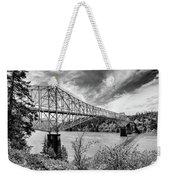 The Bridge Of The Gods Weekender Tote Bag