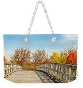 The Bridge To Autumn Weekender Tote Bag