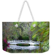 The Bridges In Magnolia Gardens Weekender Tote Bag
