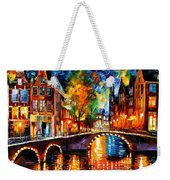 The Bridges Of Amsterdam Weekender Tote Bag