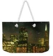 The Bright City Lights Weekender Tote Bag