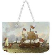 The Britannia In Rotterdam Weekender Tote Bag