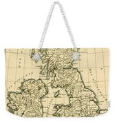 The British Isles Weekender Tote Bag