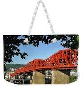 The Broadway Bridge Weekender Tote Bag