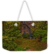 The Bronx River Stone Mill Weekender Tote Bag