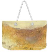 The Brunig Pass From Meiringen Weekender Tote Bag