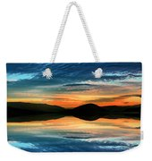 The Brush Strokes Of Evening Weekender Tote Bag