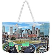 The Buildings Of Boston Weekender Tote Bag