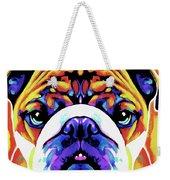 The Bulldog By Nixo Weekender Tote Bag