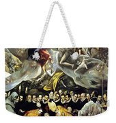 The Burial Of The Count Of Orgaz 1587 Weekender Tote Bag