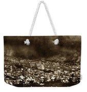 The Burning Of San Francisco Panoramic View Of San Francisco From Twin Peaks April 1906 Weekender Tote Bag