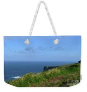 The Burren Pathway Along The Cliff's Of Moher Weekender Tote Bag