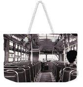 The Bus Weekender Tote Bag