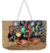 The Business End Of A Tractor  Weekender Tote Bag