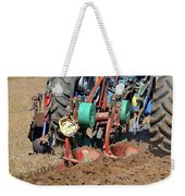 The Business End Of A Tractor Two  Weekender Tote Bag