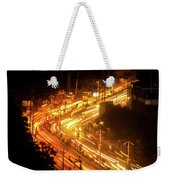 The Busy City Weekender Tote Bag