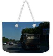 The Busy Highway Weekender Tote Bag