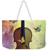 The Butterflies And The Violin Weekender Tote Bag