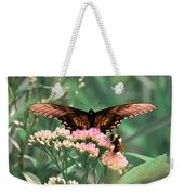 The Butterfly And The Bumblebee Weekender Tote Bag