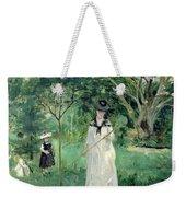 The Butterfly Hunt Weekender Tote Bag by Berthe Morisot