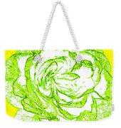 The Cabbage Rose Weekender Tote Bag