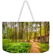 The Cabin In Montana Weekender Tote Bag