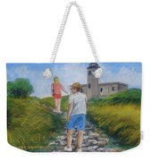 The Cabo Rojo Light House In Puerto Rico Weekender Tote Bag
