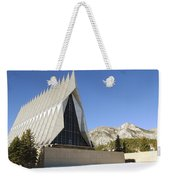 The Cadet Chapel At The U.s. Air Force Weekender Tote Bag
