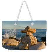 The Cairns Of Hunts Point Nova Scotia Weekender Tote Bag