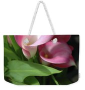 The Calla Lily Weekender Tote Bag