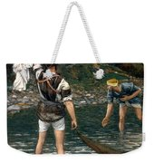 The Calling Of Saint Peter And Saint Andrew Weekender Tote Bag by Tissot