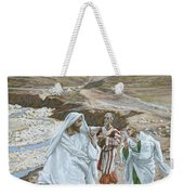 The Calling Of St. Andrew And St. John Weekender Tote Bag by Tissot