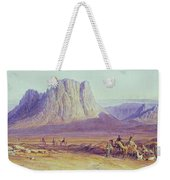 The Camel Train Weekender Tote Bag