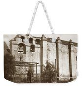 The Campanario, Or Bell Tower Of San Gabriel Mission Circa 1880 Weekender Tote Bag