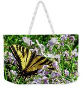 The Canadian Tiger Swallowtail Weekender Tote Bag