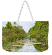 The Canal Weekender Tote Bag