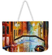 The Canals Of Venice Weekender Tote Bag