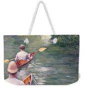 The Canoes Weekender Tote Bag