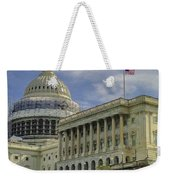 The Capitol Under Construction Weekender Tote Bag