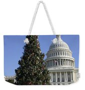 The Capitol Christmas Tree Is Decorated Weekender Tote Bag