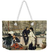 The Captain And The Mate Weekender Tote Bag