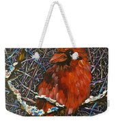The Cardinal  Weekender Tote Bag