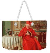 The Cardinal's Favourite Weekender Tote Bag