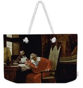 The Cardinal's Leisure  Weekender Tote Bag by Charles Edouard Delort