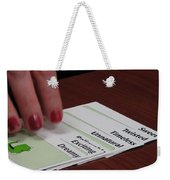 The Cards Don't Lie Weekender Tote Bag
