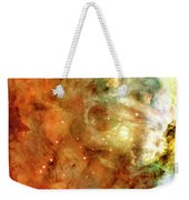 The Carina Nebula Panel Number One Out Of A Huge Three Panel Set Weekender Tote Bag