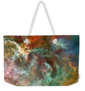 The Carina Nebula Panel Number Three Out Of A Huge Three Panel Set Weekender Tote Bag